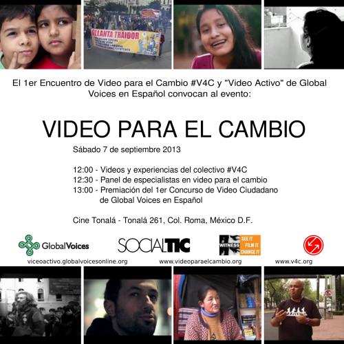 Photo: Fotos de la reunión video4change en México