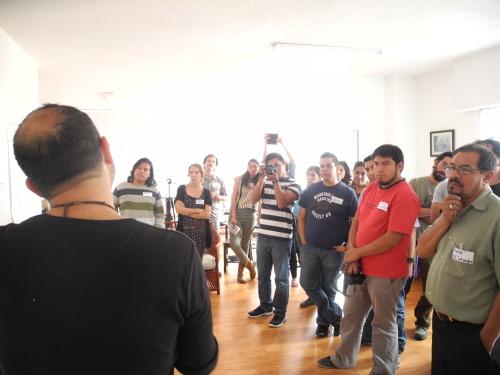 Fotos de la reunión video4change en México