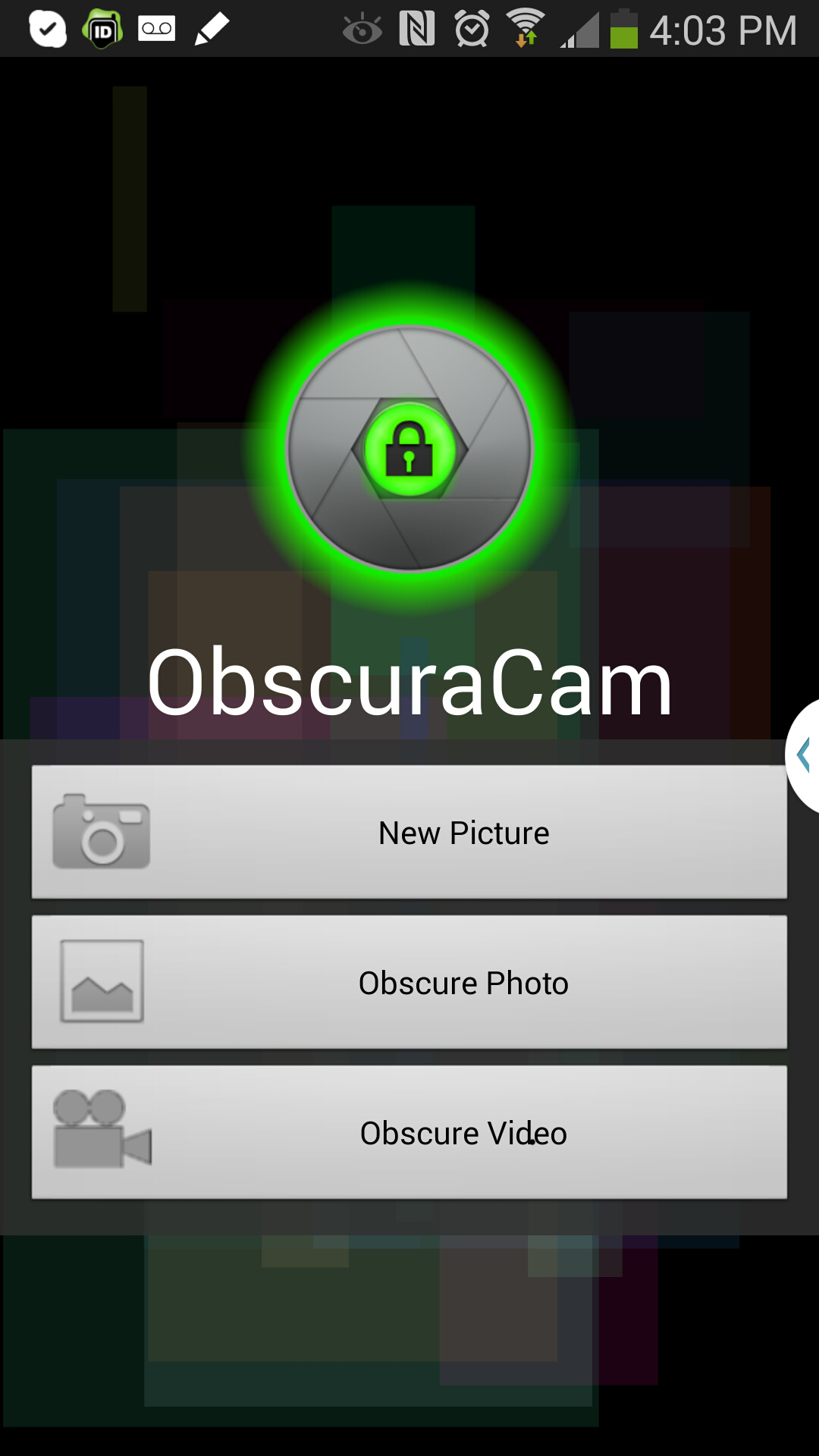 Hands-On: Using ObscuraCam