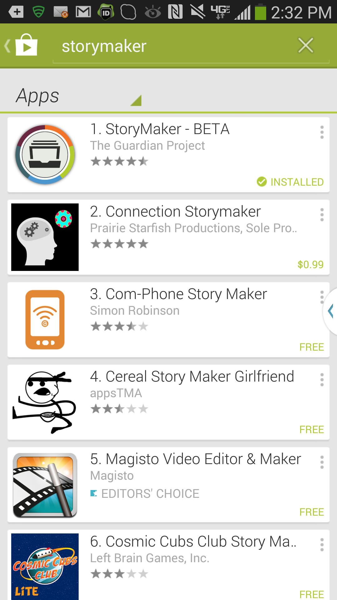 Hands-On: Using the StoryMaker App