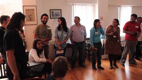 Video for change Mexico and Central America: gathering