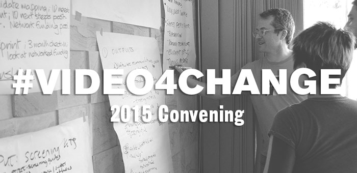 Follow Along During The Second Global Video for Change Convening!