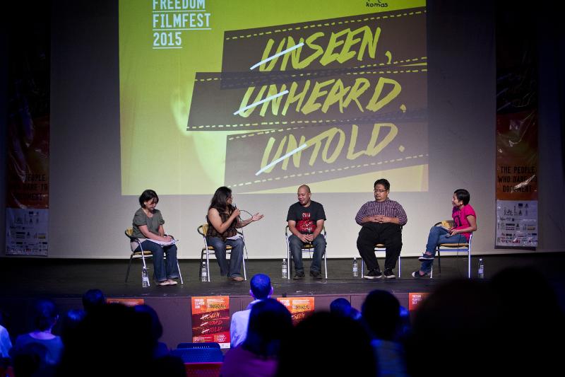 UNSEEN, UNHEARD, UNTOLD: Freedom Film Fest 2015