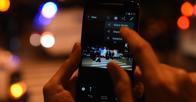 New Mobile App 'CameraV' Helps Documenters Create Verifiable Media