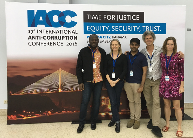 Video4Change Network Presents at the 17th International Anti-Corruption Conference