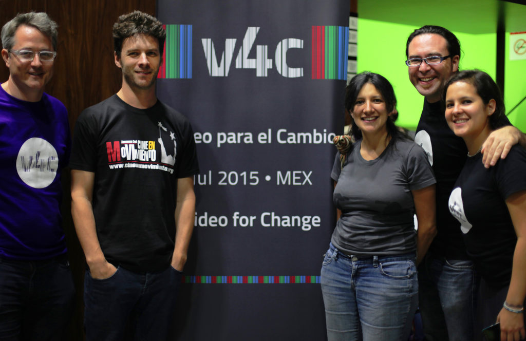 Andrew with v4c group in Mexico