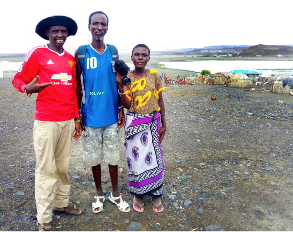 El Molo community video team in Lake Turkana, Kenya Photo by InsightShare