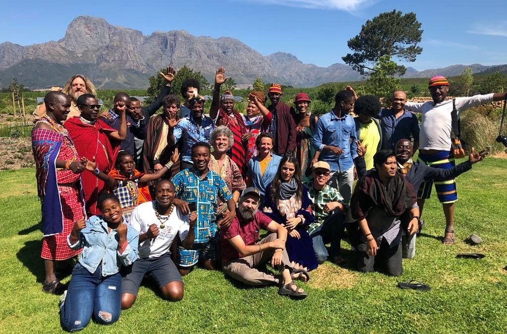 Participants of the #Video4change South Africa Gathering 2019. Image by Insightshare.