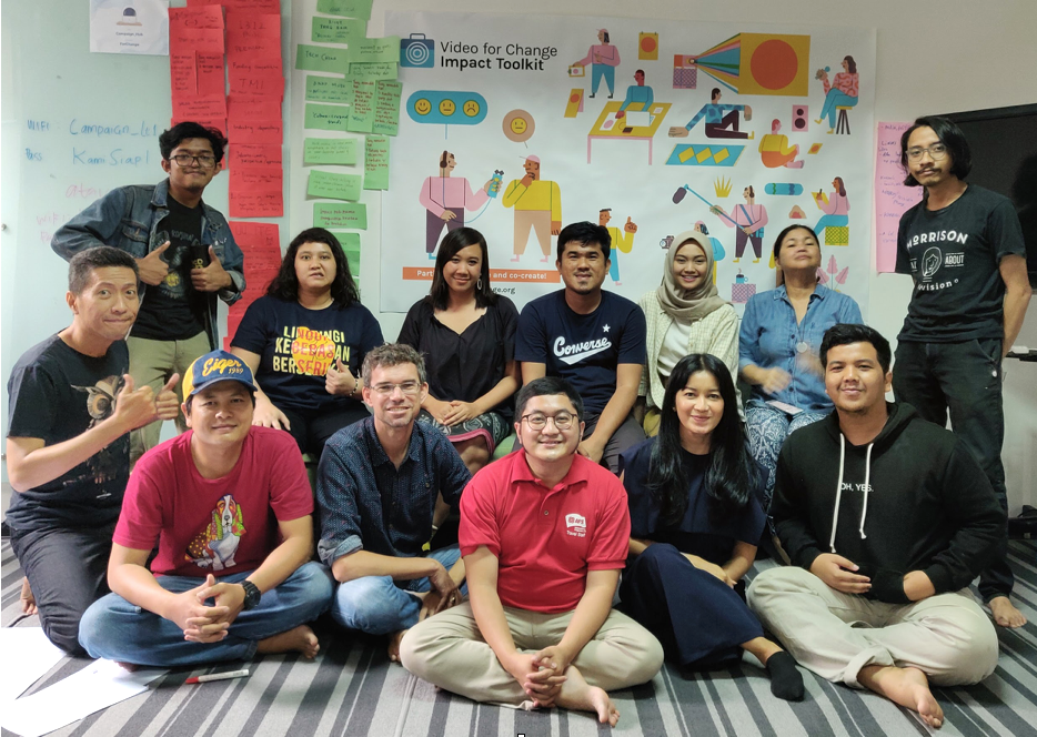 Video for Change Impact Toolkit Co-Creation Lab, held in Jakarta prior to the release of Indonesian Language version of the Impact Toolkit, December 2019.