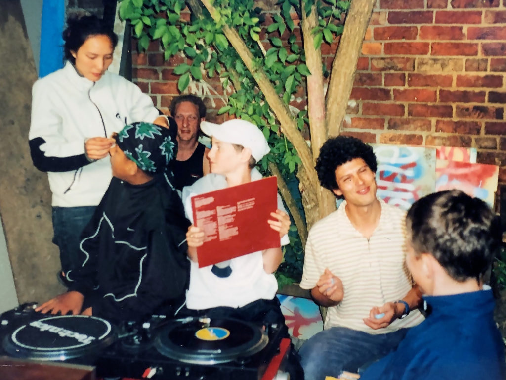 Photo from RAP days '96-01 -the RAP Yard party.