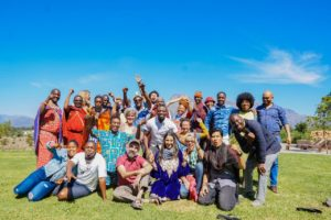 Some participants of the #Video4change South Africa Gathering 2019. Image by Insightshare.