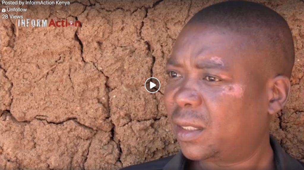 Geoffrey Osoro speaks about police brutality.